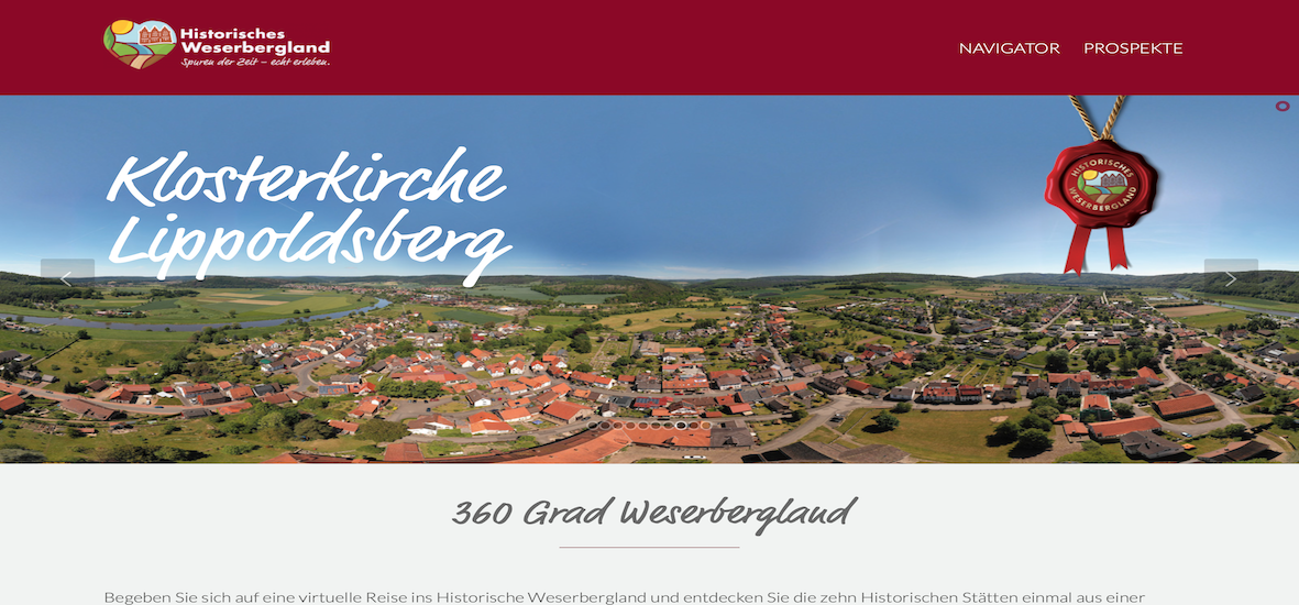 360°-Rundgang Panorama Filmstudio vph in Hemmingen